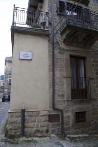 La strada intitolata a Maria Messina