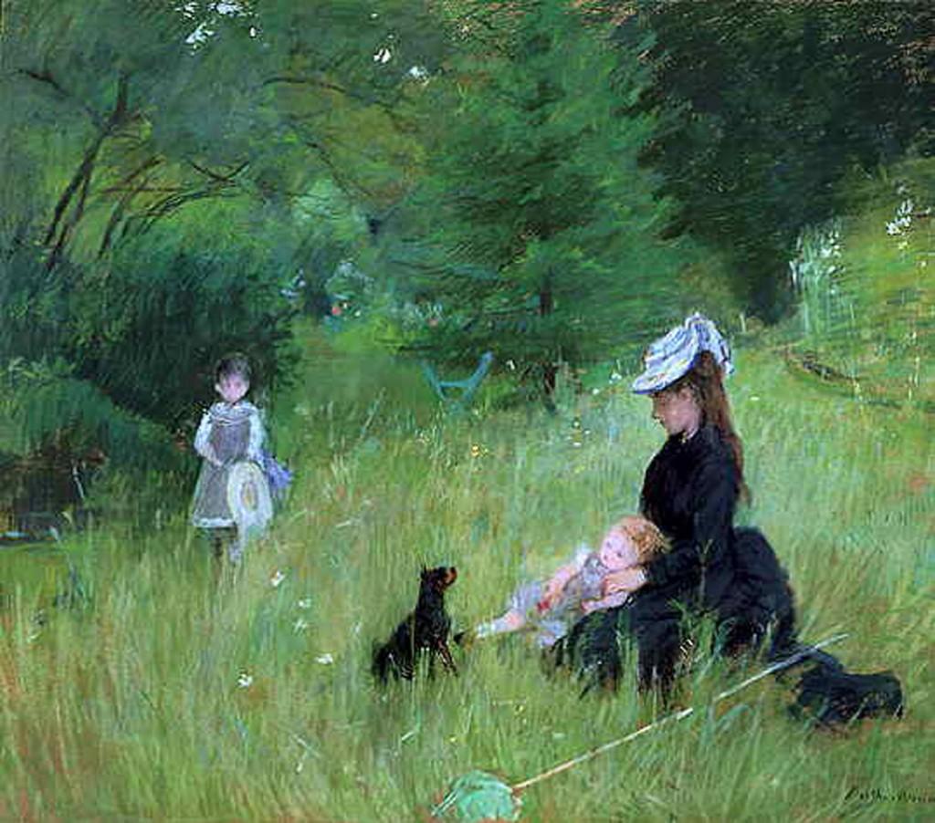 Morisot, In Park 1874.jpg