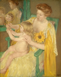 Mary Cassatt, Mother and Child, c. 1905