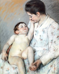 Mary Cassatt, The Caress, 1891