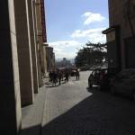 dietro la chiesa di San Giacomo degli Spagnoli