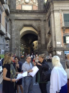 Floriana Coppola e Wanda Maresco a Port'Alba