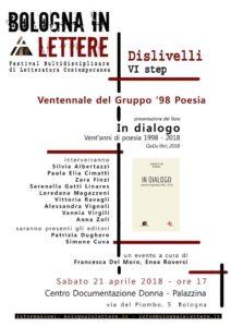 Bologna in Lettere - Ventennale del gruppo '98 @ Centro Documentazione Donna   Bologna   Emilia-Romagna   Italia